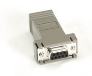 Black Box MicroSwitch Adapter, AT (DB9 F-RJ-45) FA043