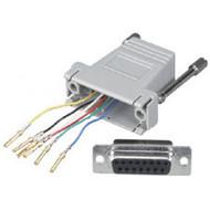 Black Box DB15/RJ-11 Adapter Kit, Female FA062