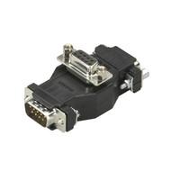 Black Box Data Tap, DB9, (3) DB9 Connectors, MFF FA148A