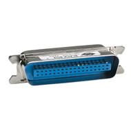 Black Box Centronics Compatible Gender Changer, EMI/RFI Shielded, Male/Male FA470-R2