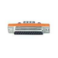 Black Box DB9 to DB25 Slimline Adapter, Male/Female FA610