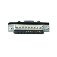 Black Box DB9 to DB25 Slimline Adapter, Female/Male FA612
