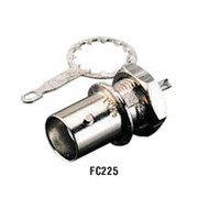 Black Box Bulkhead Solder Coax Connector, Single-Pack FC225