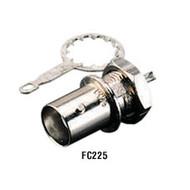 Black Box Bulkhead Solder Coax Connector, 10-Pack FC225-10PAK
