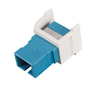 Black Box GigaStation SC Simplex Snap Fitting, Office White FM343