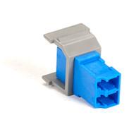 Black Box GigaStation Snap Fitting, LC, Non-Flush Mount, Gray FM356