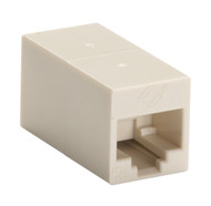 Black Box CAT5e Coupler, Cross-Pinned, Unshielded, Beige, Single-Pack FM567-R2