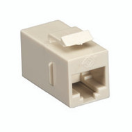 Black Box CAT5e Keystone Coupler, Cross-Pinned, Unshielded, Beige, Single-Pack FM597