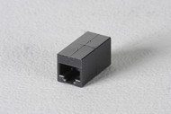 Black Box CAT6 Straight-Through Coupler, Unshielded, Black FM609