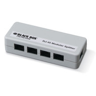 Black Box RJ-45 Modular Splitter, 5-Position, 8 x 8, Unshielded, A Pinning FM800-R2