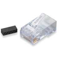 Black Box CAT6 Modular RJ-45 Connectors, 10-Pack FM860-10PAK