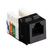 Black Box USOC RJ-11 Jack, Black, 25-Pack FMT239-25PAK