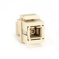 Black Box GigaStation2 Snap Fitting, SC Simplex, Female/Female, Ivory FMT325-R3