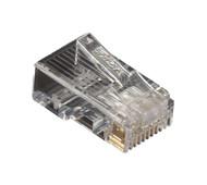 Black Box CAT5e Modular Plug, RJ-45, 100-Pack FMTP5E-100PAK