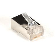 Black Box CAT5e Shielded Modular Plug, RJ-45, 25-Pack FMTP5ES-25PAK