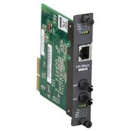 Black Box High-Density Media Converter System II Layer 1 100BASE-TX to 100BASE-F LMC5182C-R3