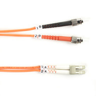 Black Box Black Box Connect OM2 50-Micron Multimode Fiber Optic Patch Cable - Du FO50-002M-STLC