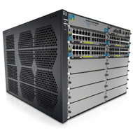 HP E5412-92G-PoE+/2XG-SFP+ v2 zl Switch Chassis J9532A