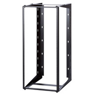 "24U Dual Swing-out Open Frame Wall Mount Rack 18"" USA Made"
