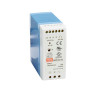Black Box DIN Rail Power Supply, 60 Watts, 12 VDC MDR-60-12