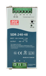 Black Box DIN Rail Power Supply - 240 Watts, 48 VDC SDR-240-48