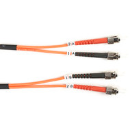Black Box Black Box Connect OM1 62.5-Micron Multimode Fiber Optic Patch Cable - FO625-001M-STST