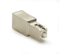 Black Box Fiber Optic In-Line Attenuator, Single-Mode, Male/Female, SC, UPC, 10 FOAT50S1-SC-10DB