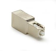 Black Box Fiber Optic In-Line Attenuator, Single-Mode, Male/Female, SC, UPC, 15 FOAT50S1-SC-15DB