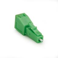 Black Box Fiber Optic In-Line Attenuator, Single-Mode, Male/Female, LC, APC, 15 FOAT55S1-LC-15DB