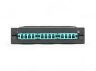 Black Box OM3 50-Micron Multimode Fiber Optic Cassette (LGX), 12-Strand MTP to ( FOCA20M3-1MP12-12LC