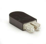 Black Box Fiber Optic Loopback, OM1 62.5-Micron Multimode, Beige, SC FOLB50M1-SC