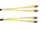 Black Box Black Box Connect 9-Micron Single-Mode Fiber Optic Patch Cable - Duple FOSM-010M-STST