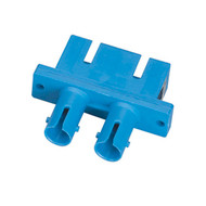 Black Box Fiber Optic Adapter, ST-SC, Single-Mode, Duplex, Rectangular Mounting FOT114