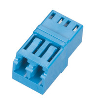 Black Box Fiber Optic Coupling, Panel Mount, Single-Mode, Duplex, Ceramic Sleeve FOT125