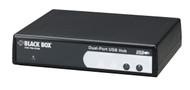 Black Box 2-Port USB Hub, RS-232/RS-422/RS-485 IC1020A