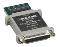 Black Box Async RS232 to RS-422 Interface Bidirectional Converter, DB25 Female t IC1470A-F