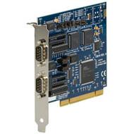 Black Box RS-232/422/485 PCI Card, 2-Port, 16850 UART IC187C