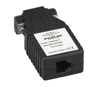 Black Box Async RS-232 to RS-485 Interface Converter, DB9 Female to RJ-11 IC623A-F