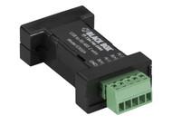 Black Box DB9 Mini Converter (USB to Serial) - USB/RS-485 (2-wire, terminal bloc IC832A