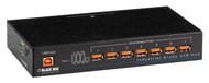 Black Box Industrial-Grade USB Hub, 7-Port ICI207A
