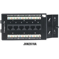 Black Box Pure Home Networking Data/Telephone Modules, 6-Port CAT5e Data/Telepho JHN2070A