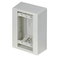"""Black Box Surface-Mount Box, Standard-Profile, Single-Gang, 4.9""""H x 3.25""""W x 1.8 JPB650S"""