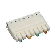 Black Box CAT5e Connecting Block, 4-Pair, 10-Pack JPT5E-4PR-10PAK