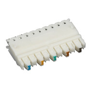 Black Box CAT5e Connecting Block, 5-Pair, 25-Pack JPT5E-5PR-25PAK