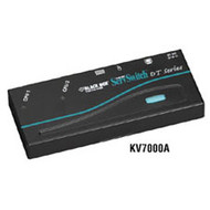 Black Box ServSwitch DT Low-Profile KVM Switch, 2-Port KV7000A