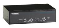 Black Box ServSwitch DT Dual-Head DVI USB, 4-Port KV9624A