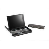 "Black Box ServTray Complete, 17"", 16-Port KVM Switch Module, USB and PS/2 KVT417A-16UV-R2"