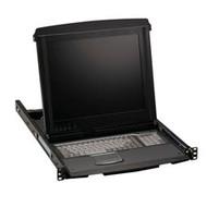 Black Box ServView V with 8-Port KVM Switch, VGA, PS/2 KVT517A-8PV