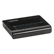 Black Box Pure Networking 10/100 Ethernet Switch, 5-Port LB005A