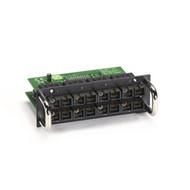 Black Box 8-Port 100-Mbps Fiber Module for Modular Managed L2 Switch, Single-Mod LB623C